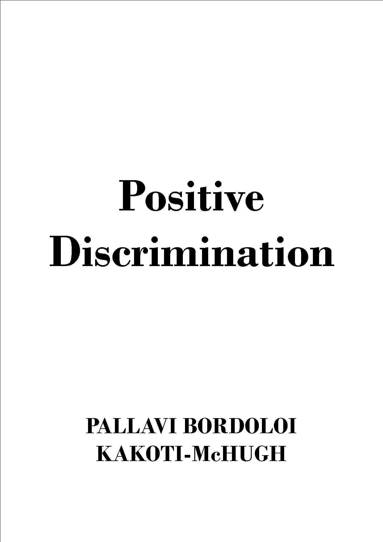 Positive-Discrimination-mizan