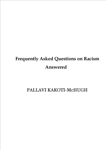 FAQ Racism book cover
